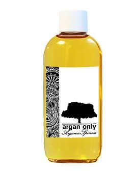 argan onlyl flaske