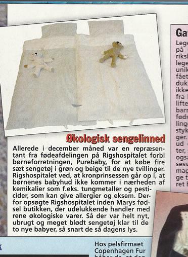 Vivatex Sengelinned, Billedbladet nr 4, 27.1.2011