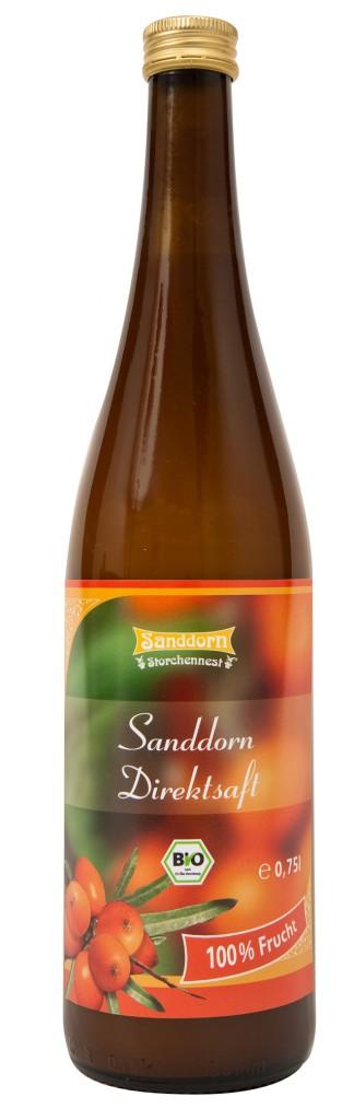 Sanddorn Storchennest Produkte 2010-02
