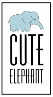 logo Cute Elephant