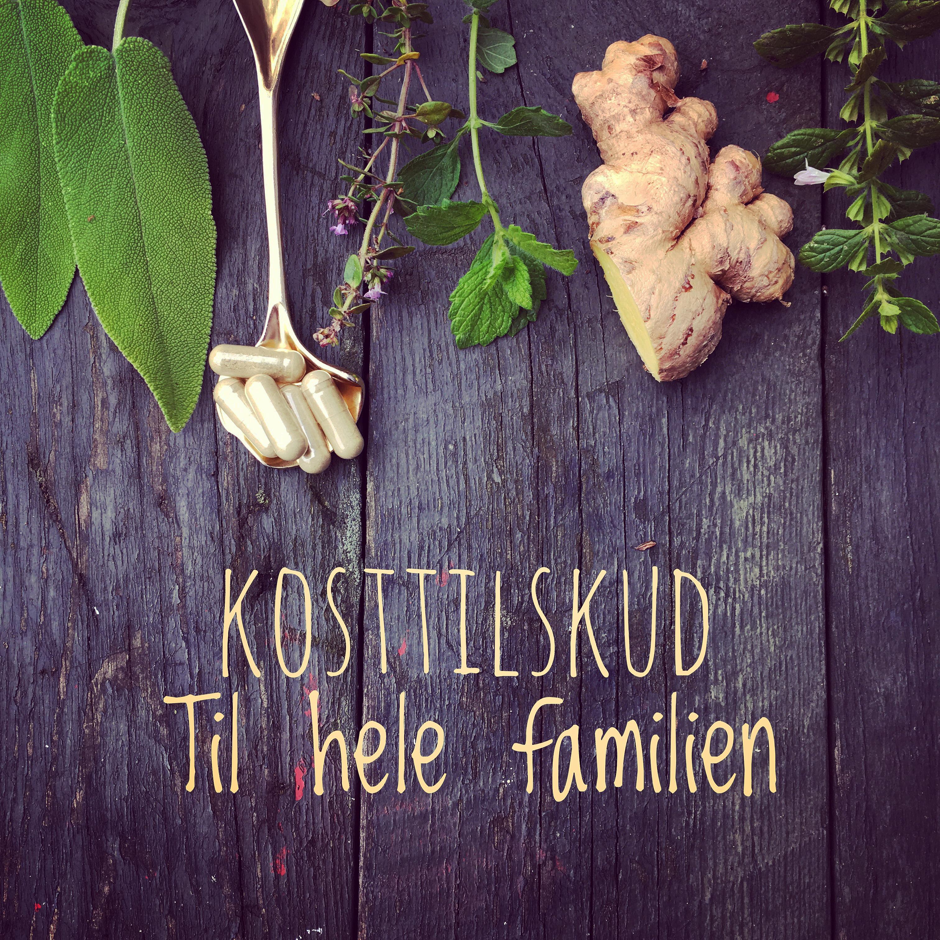 Kosttilskud til hele familien