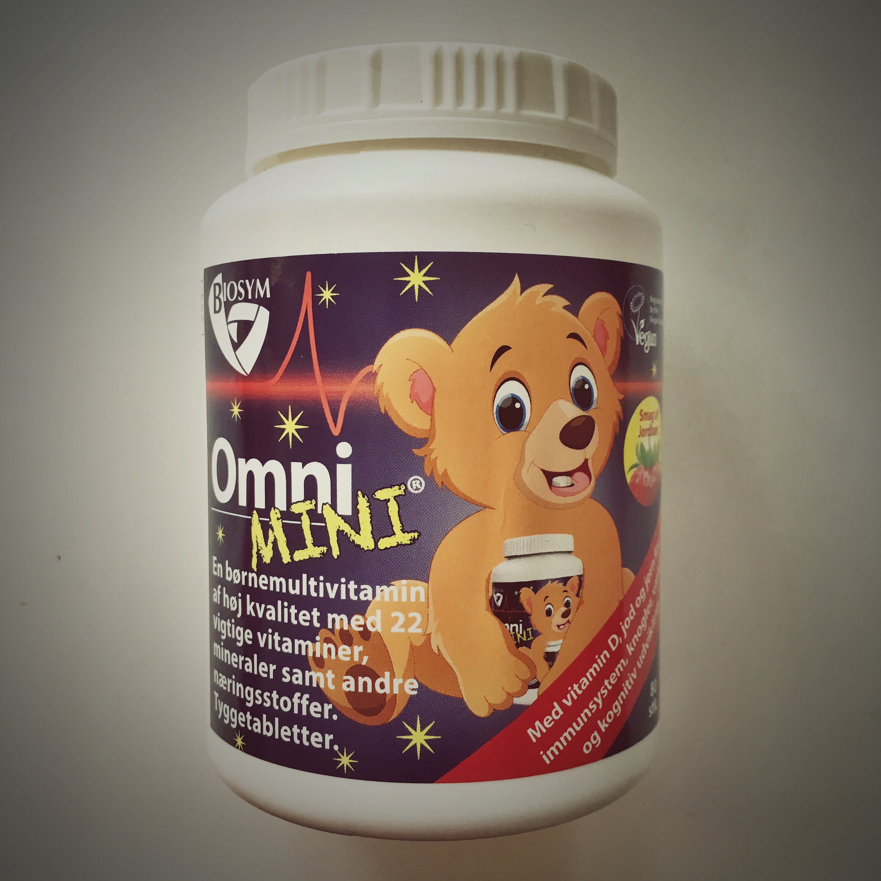 ny multivitamin til dit barn