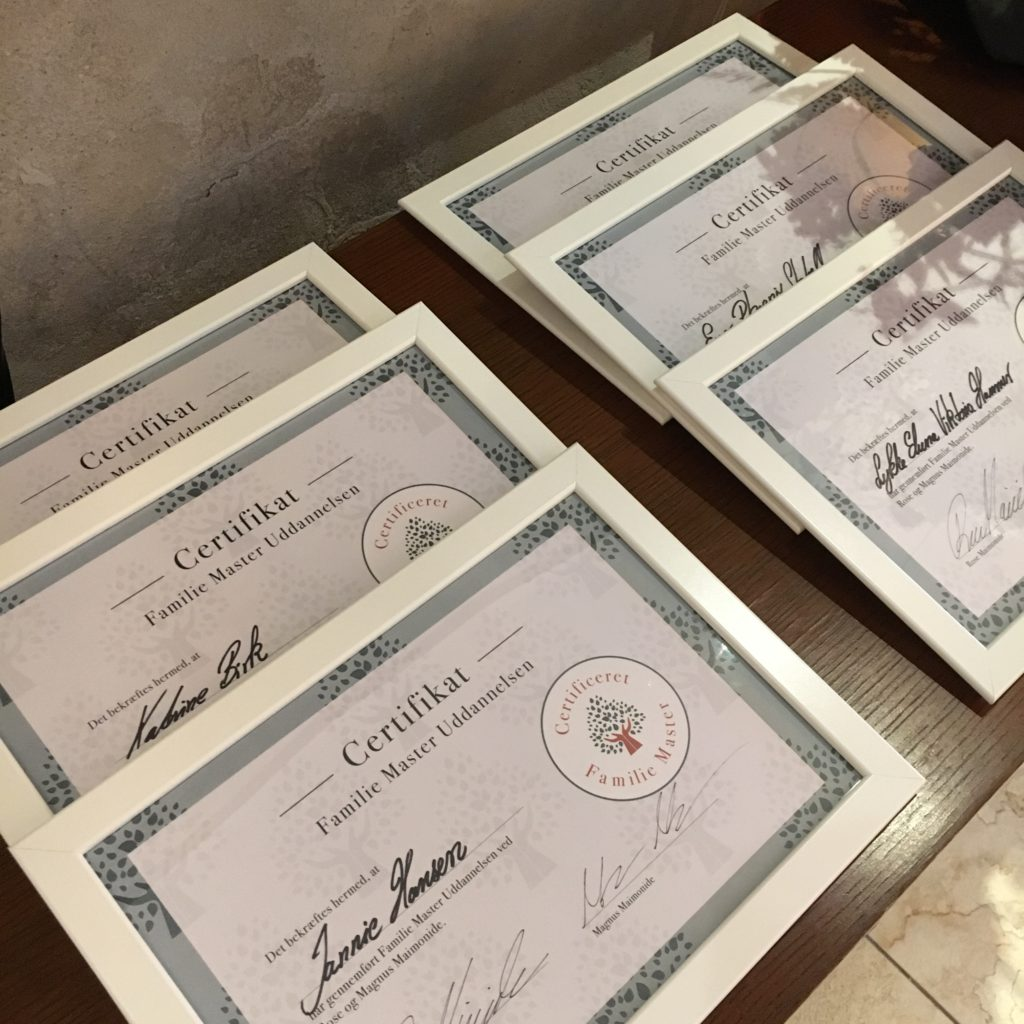 Certificering af Hold 1 på FMU