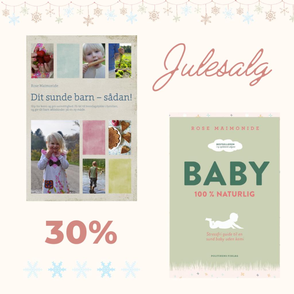 Juletilbud på BABY og Dit sunde barn – sådan!